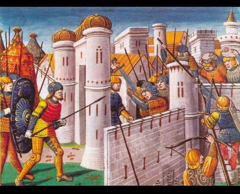 A Quarta Cruzada – Cerco de Constantinopla