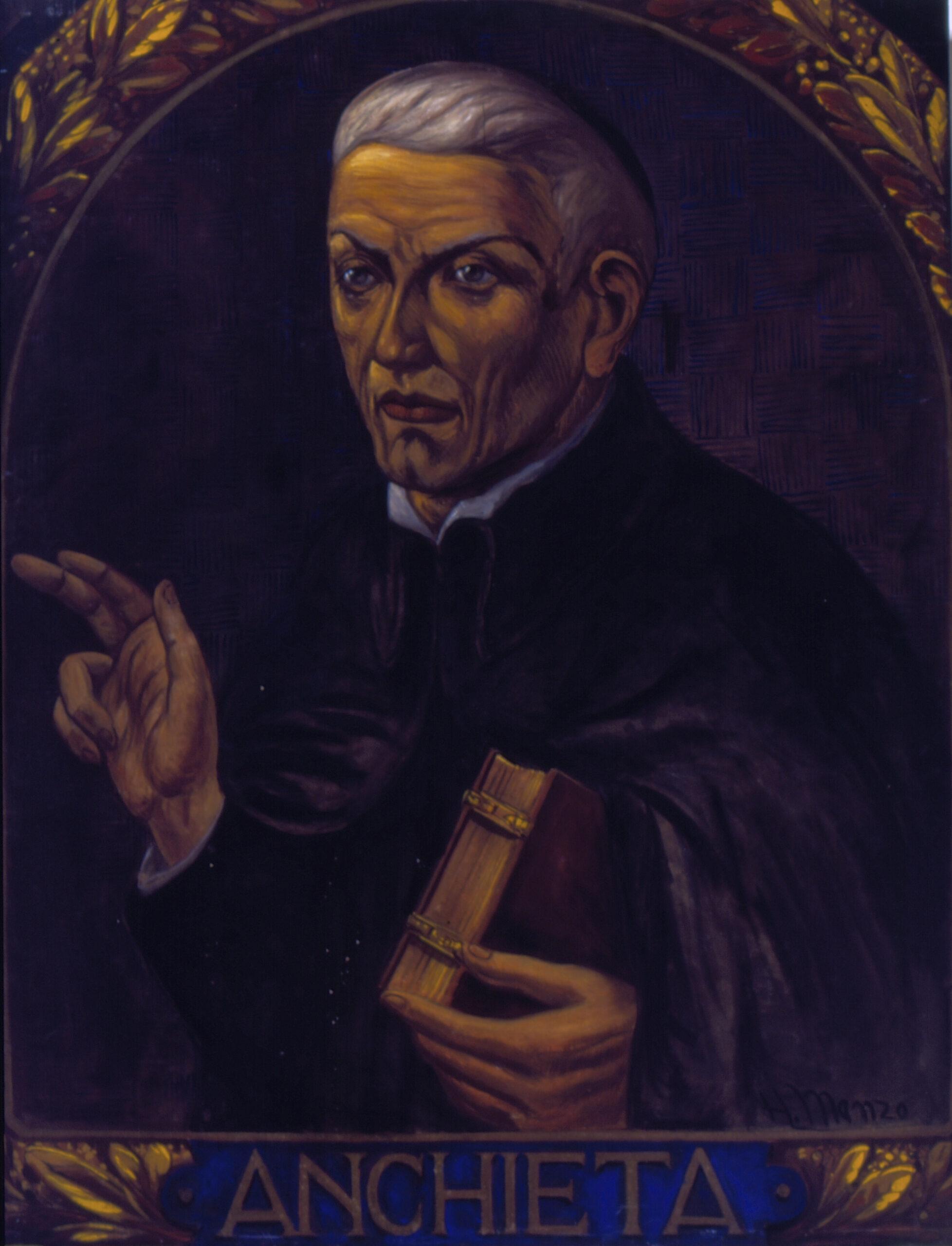 Retrato do Padre José de Anchieta, Acervo Museu Paulista (USP)