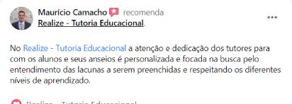 Avaliação facebook - Mauricio Camacho