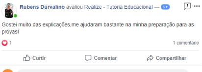 Avaliação facebook - Rubens Durvalino